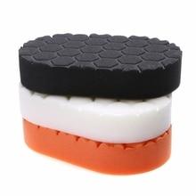 Mayitr 3PCS Durable Waxing Polish Wax Foam Sponge Applicator Polishing Pad Sets For Car Clean 15 x 8.5 2.8cm