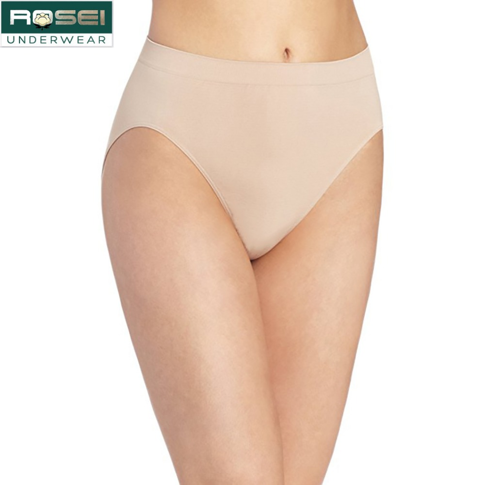 5625cc83813 European style High cut cotton women underwear plus size lingerie high  waist panties briefs seamless sexy breathable quality
