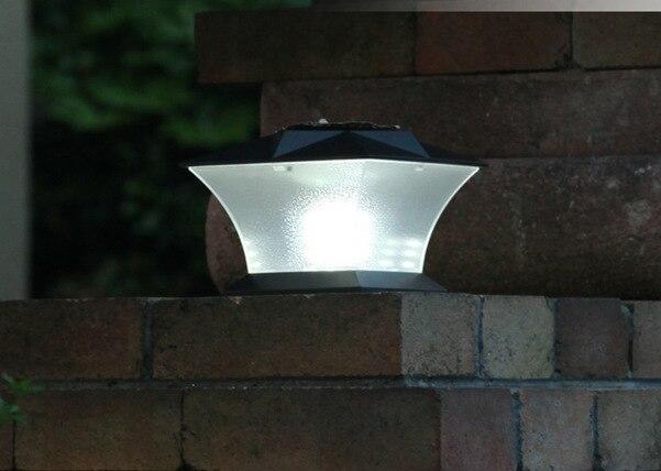 Zaunpfosten Beleuchtung Solar | Solar 18led Super Helle Zaunpfosten Kappe Zaun Garten Licht 7 Mit
