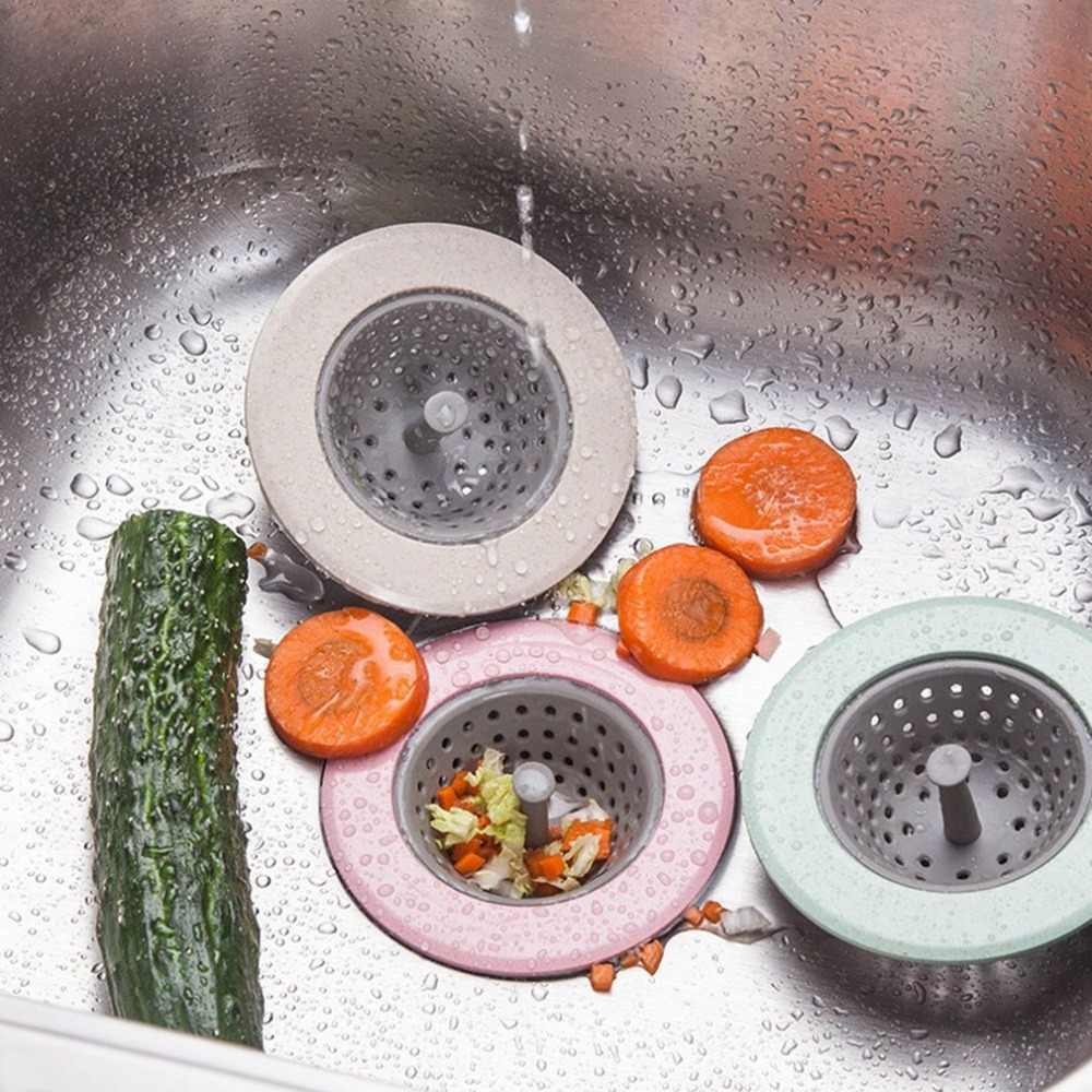 Droains Cesta pia Coador Filtro De Malha Tampa Da Ficha Anti-bloqueio de Resíduo Coador Ralo Da Pia Rolha Ferramentas de Cozinha Casa de Banho