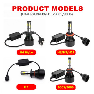Image 5 - 2 Chiếc H4 Bóng Đèn LED H7 LED H11 H8 9006 HB4 9005 HB3 Tự Động Đèn Led Đèn Pha Ô Tô 14000LM Cao Thấp chùm Tia Đèn Ô Tô Đèn 6000K 12V
