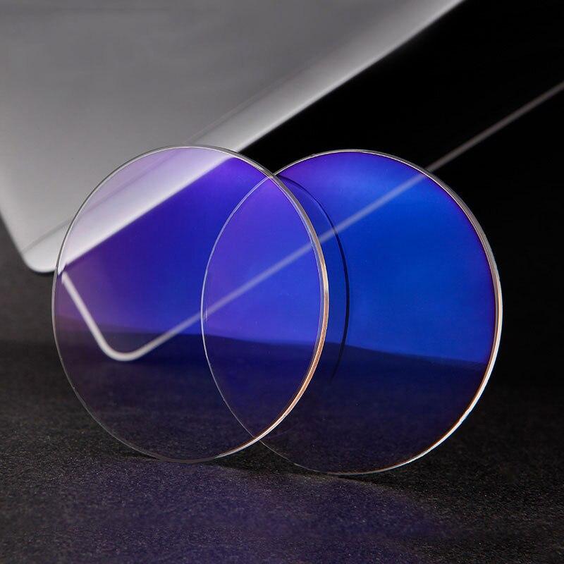 1.61 Anti-Blue Ray Brillengläser Brillengläser 1 Paar Rx-fähige - Bekleidungszubehör - Foto 6