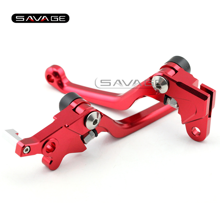 For HONDA XR 250/400 MOTARD 1995-2005, CRM 250AR 1994-1998 Motorcycle Dirt Bike CNC Pivot Brake Clutch Levers R