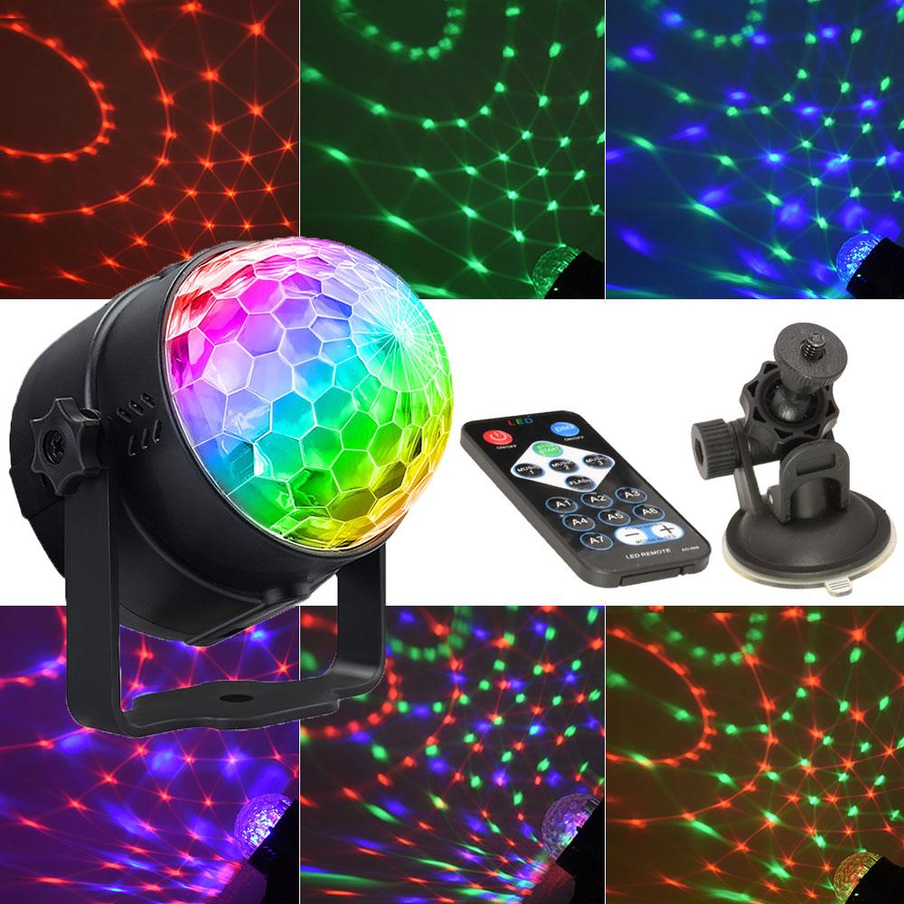 Lights Strobe Dance Light 3w Disco Ball