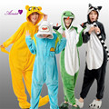 2016 New flannel pajamas cartoon conjoined animal cosplay costumes  couples homewear loungewear onesies   CS16853