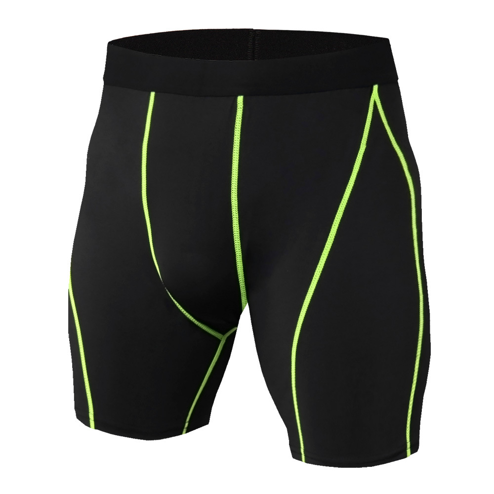Compression Shorts Men Shorts Pants Running Shorts Men Jogging Bodybuilding Workout Tights Shorts Quick-Drying Bottoms