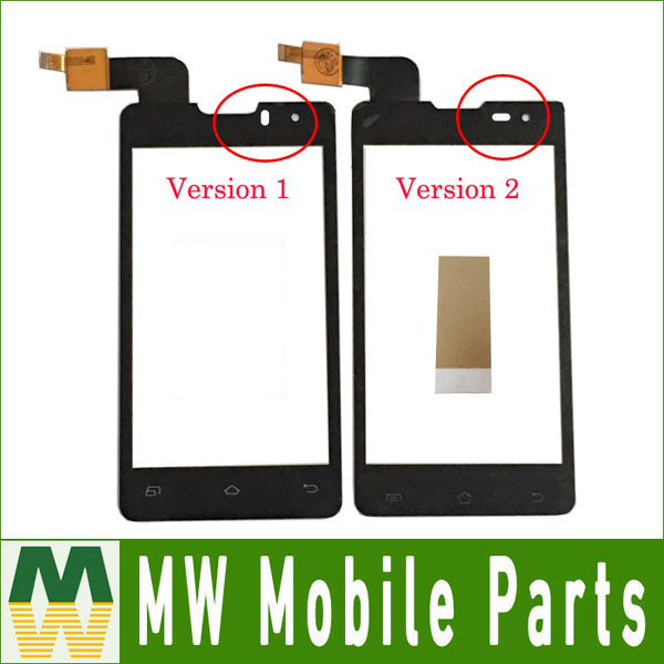 1PC/Lot High Quality For DNS S4003 Small IC innos i6s i3 Touch Screen Digitizer Replacement Part Black Color with Tape