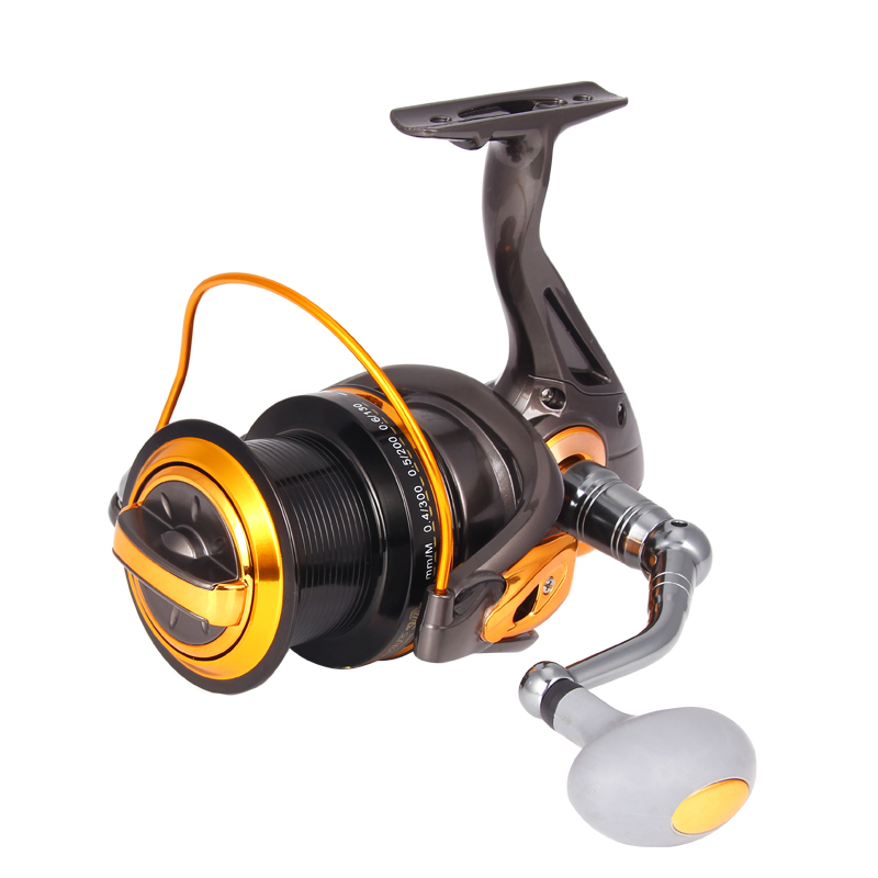 2017 Hot metal Fishing Reel 12+1BB 8000-11000 series spinning reel for feeder fishing Rubber handle fishing reels pesca XQ-03 brand new smt yamaha feeder ft 8 2mm feeder used in pick and place machine