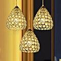 Подвесной светильник для ресторана  Современный хрустальный подвесной светильник для столовой  бара  индивидуальная одежда  декор магазин...