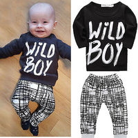 Autumn Style Baby S Sets Cotton Girls Boys Clothes Set Imperial Crown Long Sleeve T Shirt