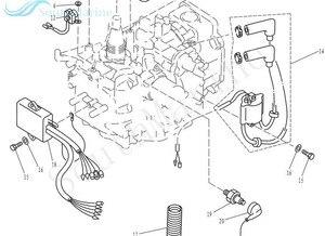Image 5 - 66M 85540 00 66M 85540 01 CDI cewka jednostki dla Yamaha silnik zaburtowy F9.9 F15 T9.9