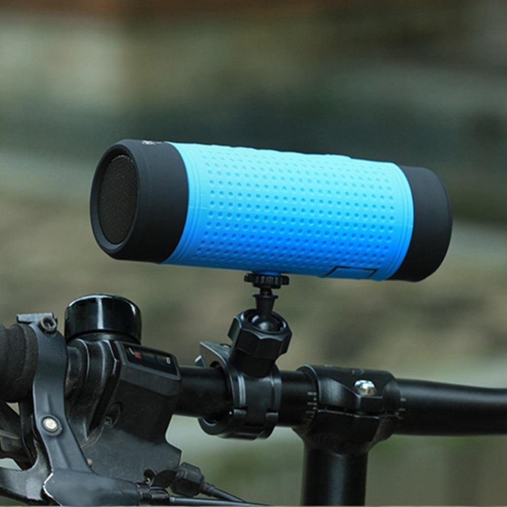 PINDO P-X1 Outdoor Waterproof Outdoor Riding Flashlight Bluetooth Speaker Sound Box for Mountain Bike Column Bluetooth withTF FM