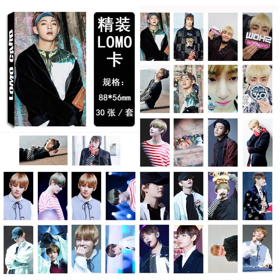 Jewelry & Accessories Kpop Bts Fake Love Polaroid Lomo Photo Card Bangtan Boys Love Yourself Collective Photocard Cards 40pcs