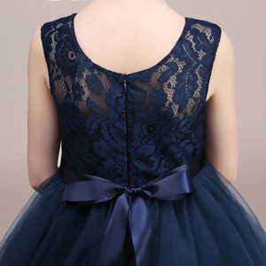 Image 5 - Cielarko robe en dentelle pour filles, en maille, pour soirée de mariage, longueur cheville, robe élégante pour bal, frocs