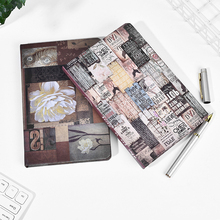 цены Vintage Hardcover Notebook Creative Traveler DIY Graffiti Diary Planner Notepad Bullet Journal Office Stationery School Supplies
