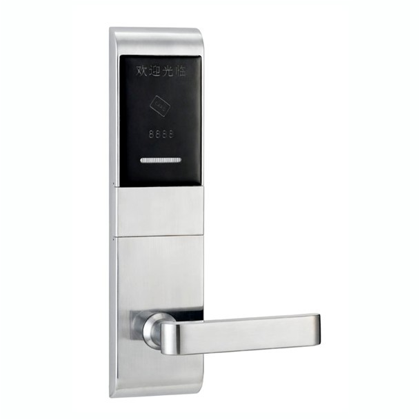 hotel lock system,RFID T5577 hotel lock system,gold or silver color,T5577 card ,Zinc alloy forging,sn:CA-8027 hotel lock system rfid t5577 hotel lock gold silver zinc alloy forging material sn ca 8037