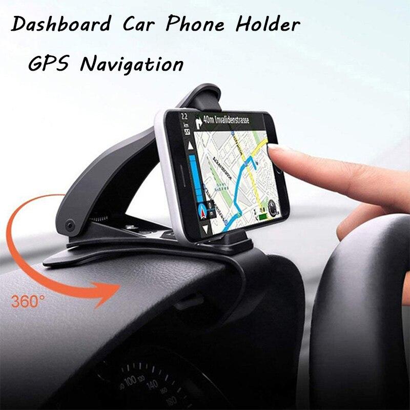 MagiDeal Universal Car Phone Holder Windshield Dashboard Mount Phone Stand