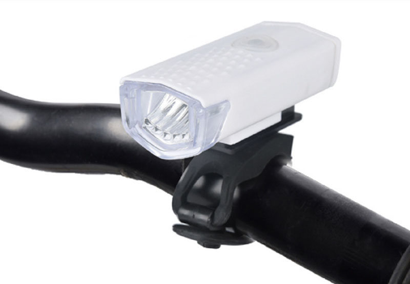 Flash Deal Bicycle Front Light USB Rechargeable Bike Headlight 300 Lumen 3 Mode Bike Lights Lamp LED Flashlight Lantern Cycling Accessories 1