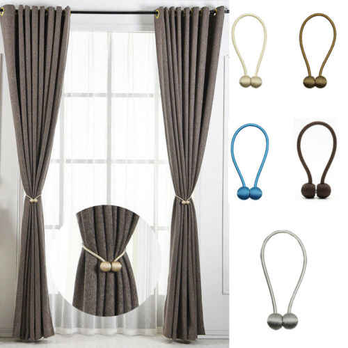 FAROOT New Ball Magnetic Curtain Buckle Holder Tieback Clips Home Window Accessories Curtain Tieback