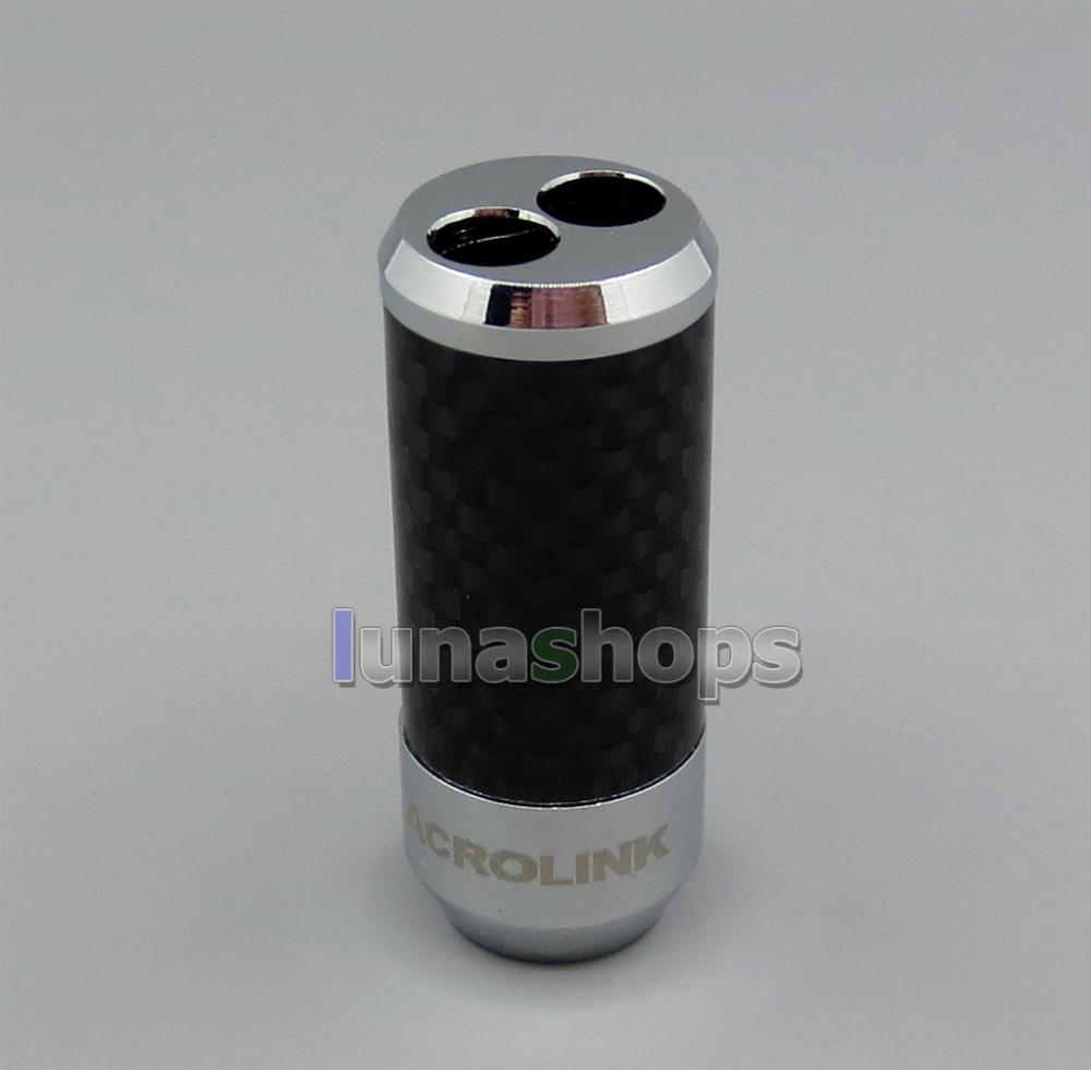 HiFi Kohlefaser Hosenaufladung Y Splitter Lautsprecher Audio Power ...