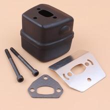 Kit de joint de pare chaleur pour boulon déchappement HUSQVARNA 137 142 e 136 LE 41 36 141, pièces détachées pour moteur tronçonneuse