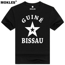 GUINEA BISSAU t shirt diy free custom made name number gnb t-shirt nation flag country gw republic guinee college print clothing