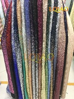 1 Yard Gradient Color Royal Blue Silver Sequin Fabric Stretch Spandex Embroidered Mesh African Lace Sequin Fabric for Dress DIY