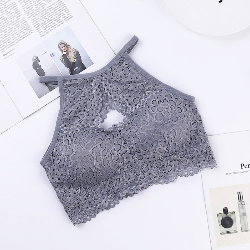 Sexy Lace Bottoming Bras Female Tube Top Underwear Beauty Back Bra Women Tank Tops