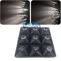 Hurtownie 8x Diament efekt Etap DJ Matrix Beam LED matrix i Publiczność blinder 3x3 Panel wyświetlacza stroboskopowe światła laserowego dla sprzedaż