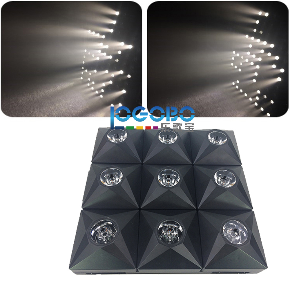 Wholesale 8x Diamond Stage DJ Matrix Beam LED matrix effect and Audience blinder 3x3 Panel display strobe laser light for sale blinder m45 x treme