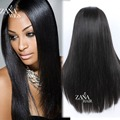 150% Density Lace Front Human Hair Wigs Brazilian Virgin Hair Silk Straight Full Lace Human Hair Wigs for Black Women
