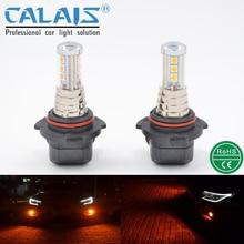 Кале LED стайлинга Автомобилей автомобильной H1 H3 H4 H 7 H8 H10 H11 880 881 9005 9006 золото LG чип* 9 лампы для DRL противотуманные фары лампы