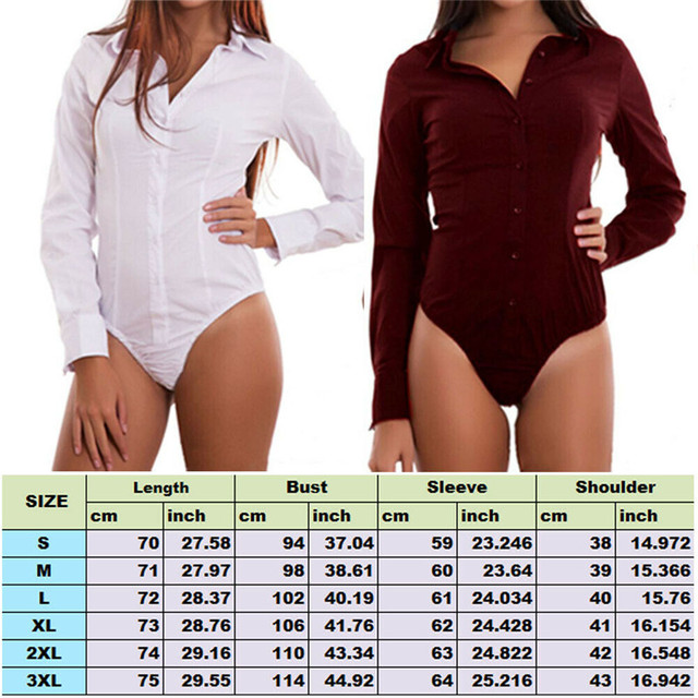 Women long Sleeve Casual Plain Bodysuit Elegant Ladies Romper Stretch Leotard Body Tops V Neck OL Clothes Dames Shirt Plus size 5