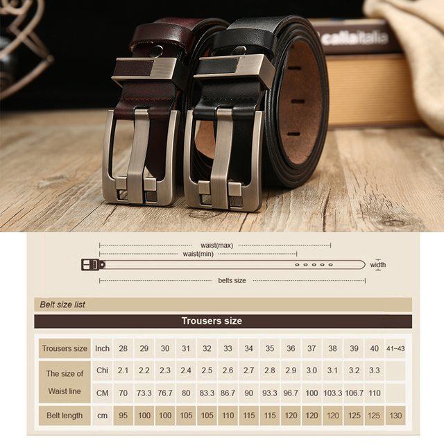 [LFMB]belt male leather belt men strap male genuine leather luxury pin buckle belts for men belt Cummerbunds ceinture homme 8