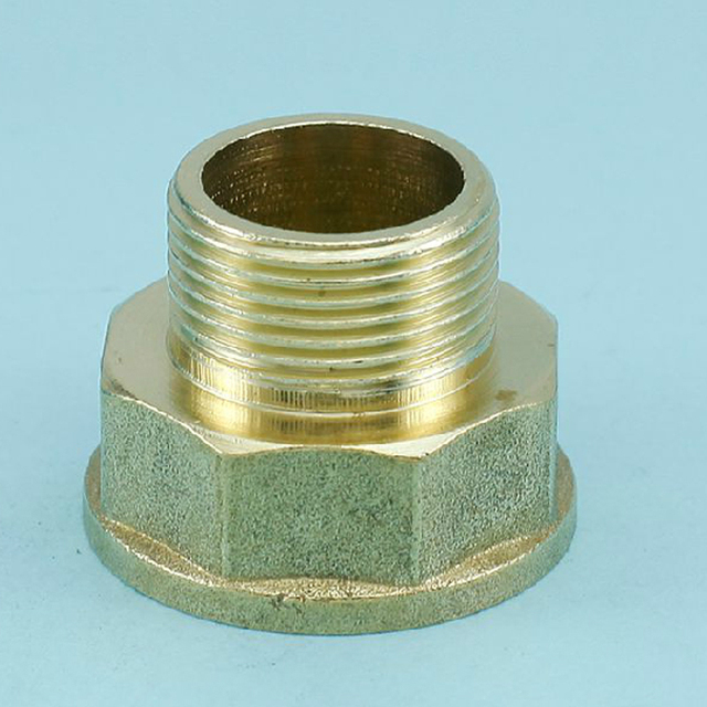 Brass 3/4 Inch Female To 1/2 Inch Male Adapter Fitting Hom Garden