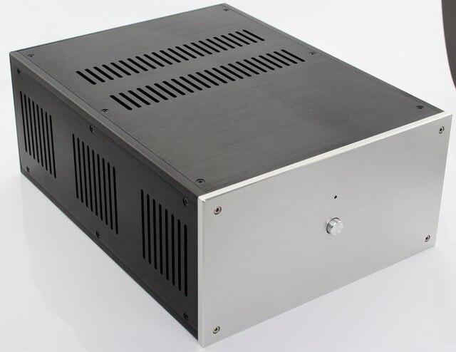 حالة 285*150*370 مللي متر WA109 الألومنيوم مكبر للصوت الشاسيه/فئة A مكبر كهربائي/النقي بعد مكبر للصوت حالة/AMP ضميمة/حالة/DIY مربع