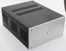 מקרה 285*150*370mm WA109 אלומיניום מגבר מארז/מגבר כוח/טהור הודעה  מגבר מקרה/AMP מארז/מקרה/תיבת DIY