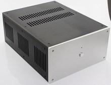 Boîtier 285*150*370mm WA109 châssis amplificateur en aluminium/amplificateur de puissance classe A/boîtier post amplificateur pur/boîtier AMP/boîtier/boîtier bricolage