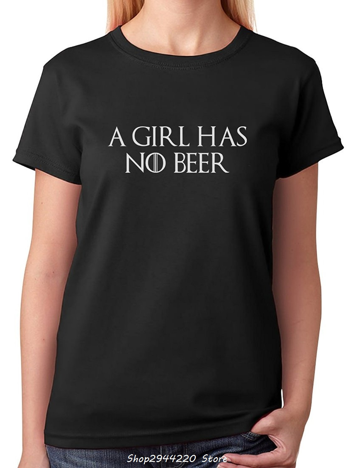 Design your own t-shirt female - 2017 Fashion Create Your Own T Shirt Design Women S Short A Girl Has No Beer St