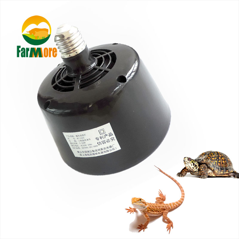 Heating Lamp Fan 5w~100w Adjustable Pet Heater Insulation Lantern Turtle Lizard Reptile Incubator Box Temperature Controller