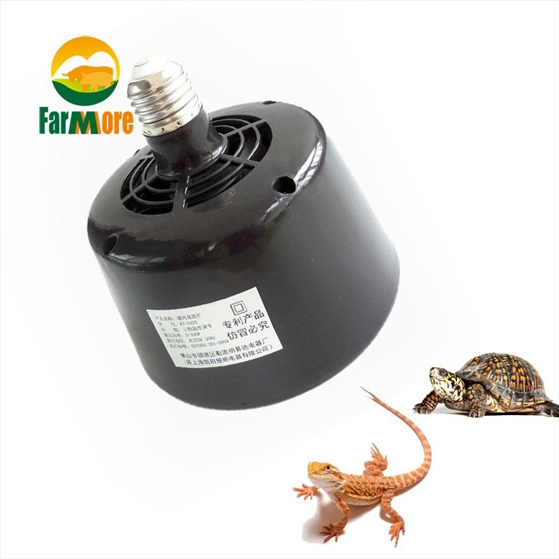 Heating Lamp Fan 5W~100W Adjustable Pet Heater Insulation Lantern Turtle Lizard Reptile Incubator Box Temperature Controller