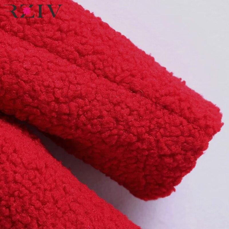 À Manteau De Kaki Femmes Rziv Solide Couleur Automne Casual Double Manches Poche Revers Décoratif Boutonnage Longues rouge D'hiver Et vtwBIIqC