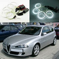 For Alfa Romeo 147 2005 2006 2007 2008 2009 2010 Excellent angel eyes Ultrabright illumination CCFL Angel Eyes kit Halo Ring