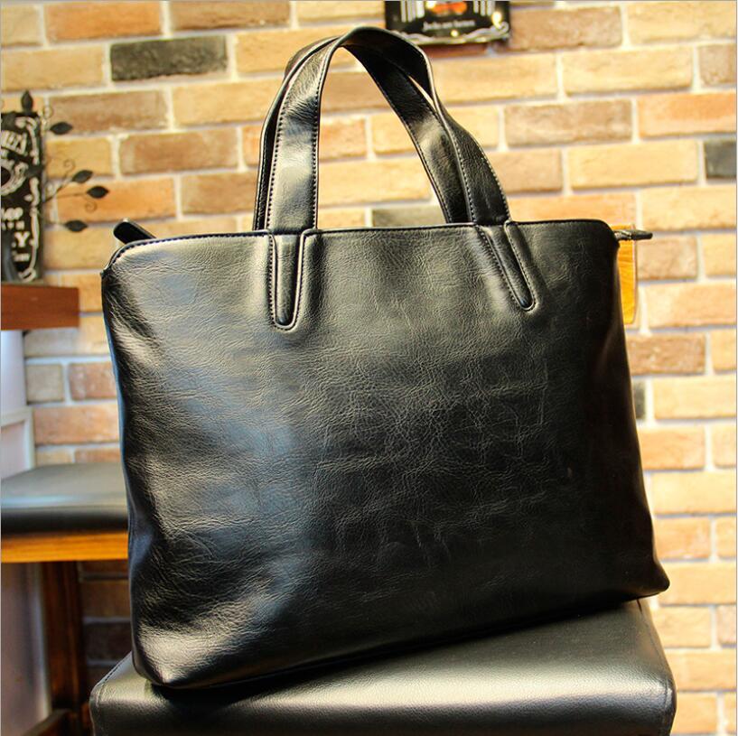Handbags Business-Briefcase Trend Laptop-Bag Computer Crossbody Shoulder Men's Casual