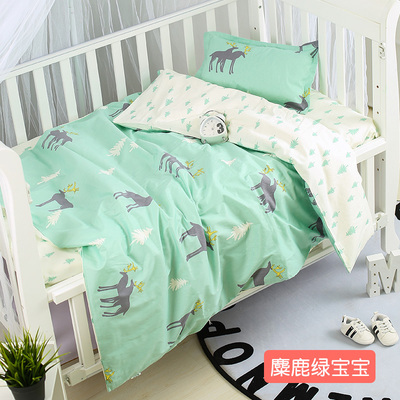 With Filling cactus Nordic Baby Cot Bed Linens Baby Crib Bedding sabanas Linen ,Duvet /Sheet/PillowWith Filling cactus Nordic Baby Cot Bed Linens Baby Crib Bedding sabanas Linen ,Duvet /Sheet/Pillow