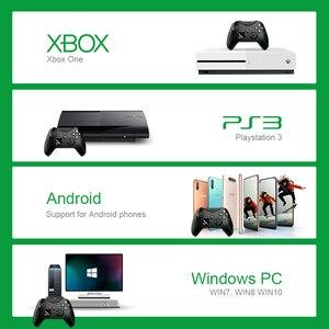 Image 5 - Dane żaba 2.4G bezprzewodowy kontroler do gier Joystick do kontroler do Xbox One dla PS3/smatfon z androidem Gamepad dla Win PC 7/8/10