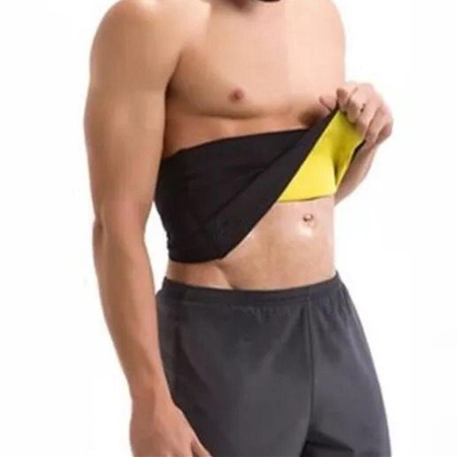 Men Body Shapers Belt Modeling Strap Neoprene Sweat Sauna Waist Trainer Corset Belly Elasticity Regulate Stomach Slim Belts