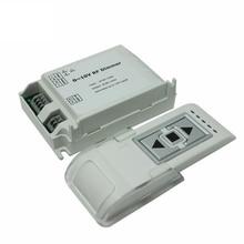 AC110V- 220V High Voltage LED RF Dimmer  1 Channel 0-10V 1CH Trailing Edge Dimming 3 Key with Remote Control DM015