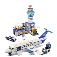 GUDI Air Plane City International Airport Blocks 652pcs Bricks Building Block Sets Classic Educational Toys For Children