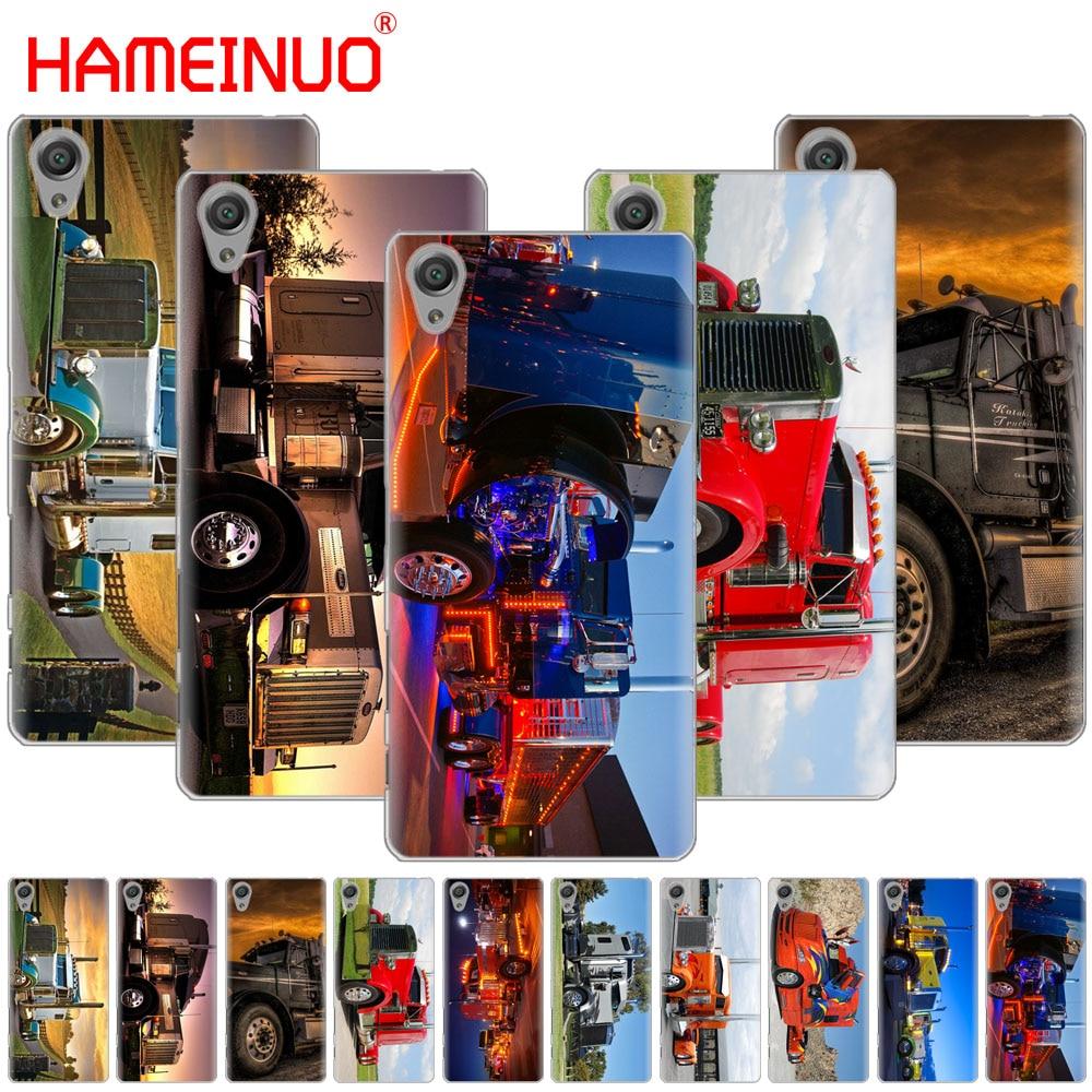 Cellphones & Telecommunications Inventive Hameinuo Peterbilt Trucks Cover Phone Case For Sony Xperia C6 Xa1 Xa2 Xa Ultra X Xp L1 L2 X Xz1 Compact Xr/xz Premium